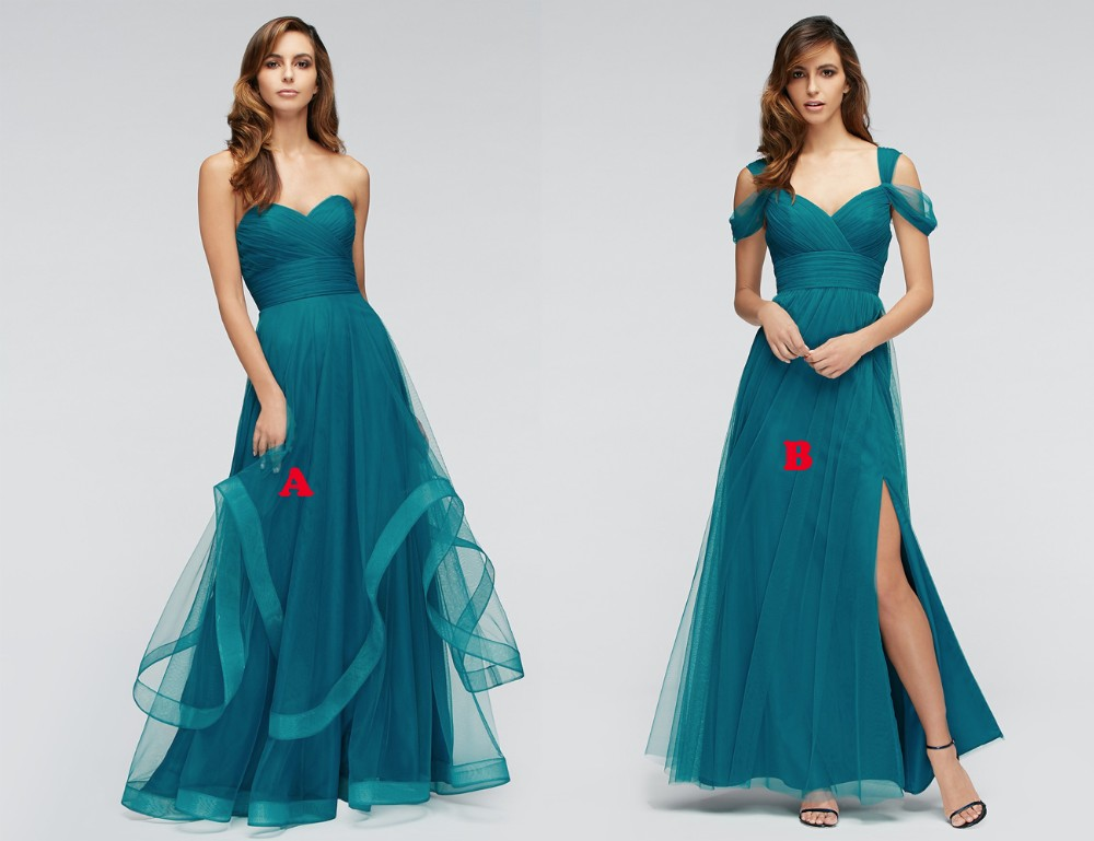 Cheap Wedding Dresses With Color: Popular Teal Colored Bridesmaid Dresses-Buy Cheap Teal