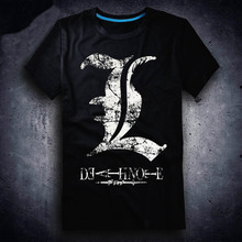 New Death Note T-shirt Anime t shirt Cotton Summer Short-sleeve Tees tops