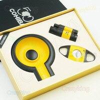 יוקרה COHIBA מצית סיגר קאטר סט חדש מתנת מאפרה אישית חדשנות