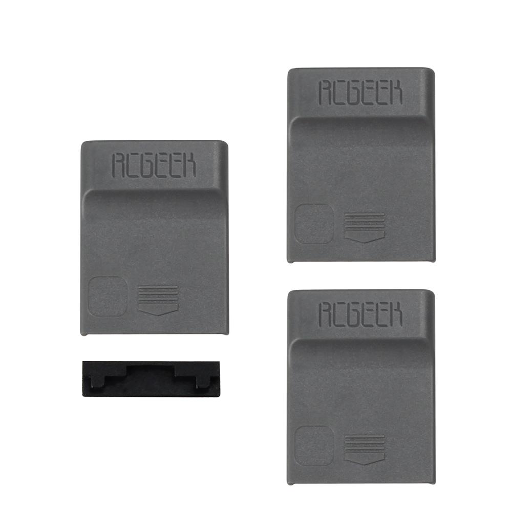 4pcs set 1pcs Drone Port Cap + 3pcs Battery Charger Port Cover Board Dust-proof Short Circuits Protection Guard For  DJI SPARK 1 (10)