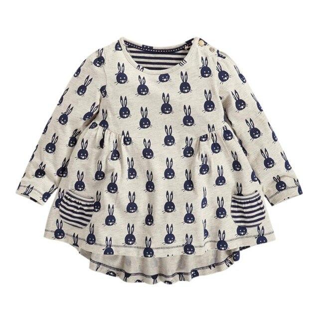 e4a5e8435 Autumn Kids Cute Tops Girls T shirt Baby T Shirts Girl Cotton Long ...
