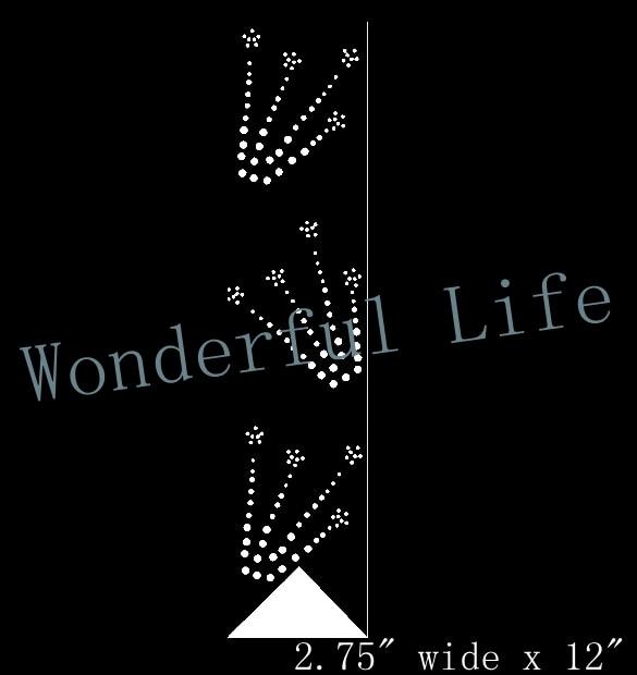 A quality Wonderful Life fire work bow strip 2.75