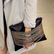 Garantie de qualité! 2018 femmes en cuir noir sacs à main et sacs à main soirée pochettes jour embrayages