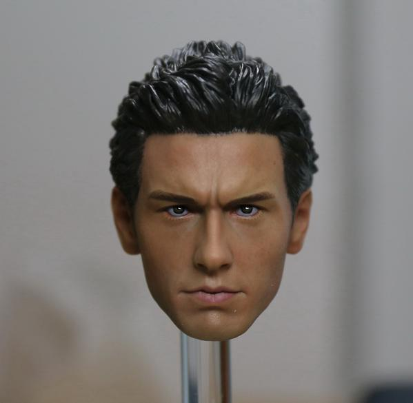 1/6 scale figure doll accessory Male Head shape Spider-Man Harry Osborn Head carved for 12 action figure doll Not included body 10cm spider man japanese anime lovely swing doll cute black panther mobile phone holder shaking head action