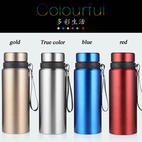 e3805fec96 Double Vacuum Flasks Thermoses Stainless Steel 750ML Outdoor Sport Travel  Cup Thermos Drinking Water Bottle Thermal