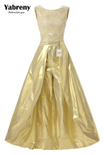 Yabreny Modern Ouro de Casamento Do vestido de Casamento com calças terninho BP111701(China (Mainland))