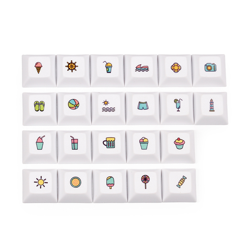 Worldwide delivery 60 keyboard keycaps in Adapter Of NaBaRa