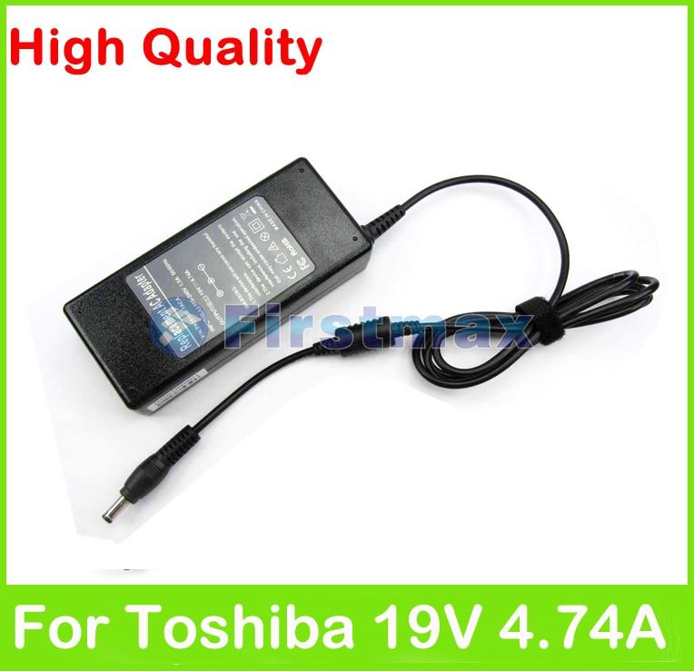 19 v 4.74a 90 watt ac laptop adapter netzteil für toshiba dynabook...