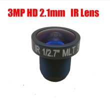 Free shipping 3MP HD 2.1mm CCTV IP Camera MTV Board IR Lens F2.0 Aperture 1/2.7″ Image Format