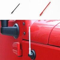 Best Quality 17cm Auto Signal Antenna Conductive Mertal Antenna For Jeep Wrangler 2007 2015
