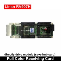 Linsn RV907H RV907 4x26 Pins Synchronization Full Color Led Video Display Receiving Card Max 1024*256 Pixels
