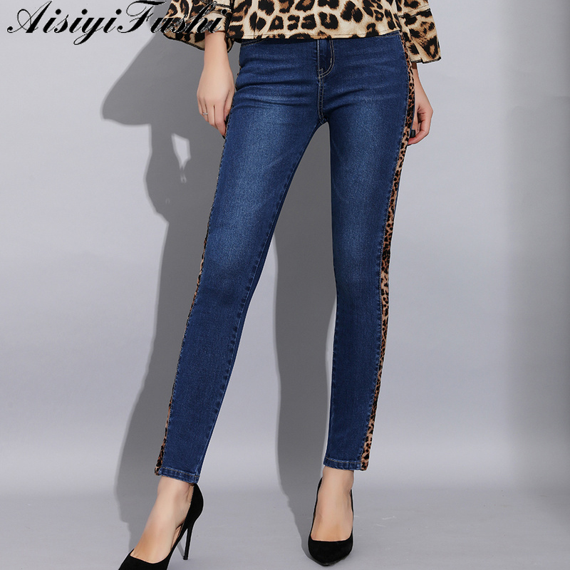 Women's Clothing Women Ladies High Waist Skinny Jeans Woman Stretchy Dark Blue Button Fly Denim Skinny Pants Jean Trousers Femme Mujer