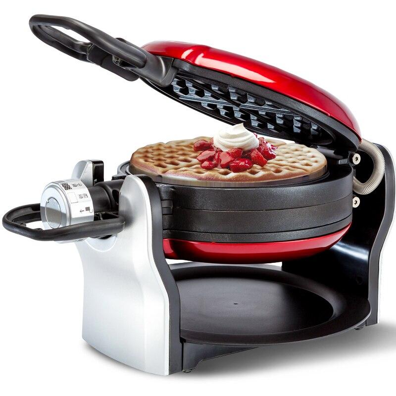 Eupa İşlevli Elektrikli Döner Waffle makinesi Elektrikli Pişirme Pan Fırın Pişmiş Kek Gözleme Makinesi TSK-2909BW