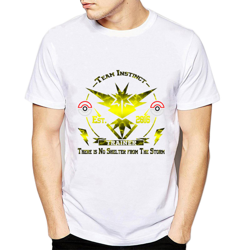 1735a5dd Harajuku Pokemon Articuno Moltres Zapdos Men T Shirts 2018 New Summer Round  Neck T shirt Cute Pokemon Go Novelty Tshirt Top-in T-Shirts from Men's  Clothing ...