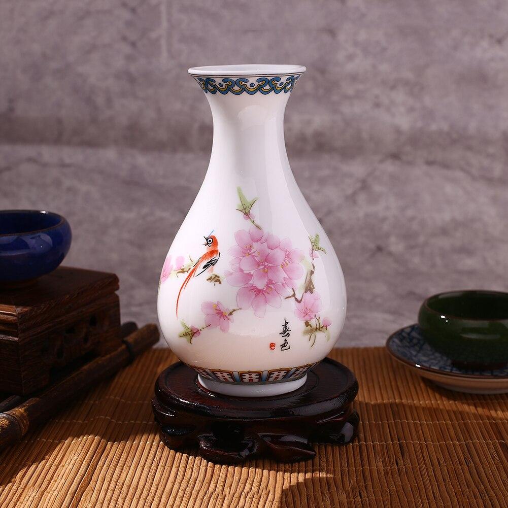 Traditional Blue White Porcelain Ceramic Flower Vase Home Vintage Classic vase