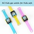 Q200 3g tarjeta sim pantalla táctil smart watch niño bebé niños GPS Rastreador Smartwatch para IOS y Android PK Q100 Q90 Inteligente reloj