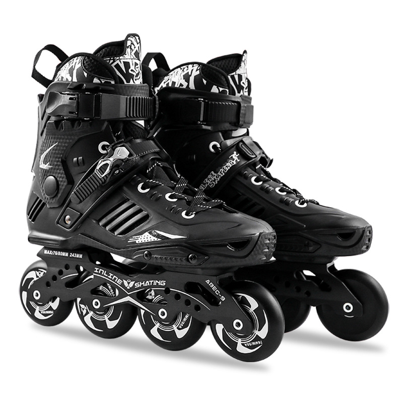 Professional Inline Skate Shoes Adult Roller Skates Men Women High Quality Sliding Free Style Skating Patins