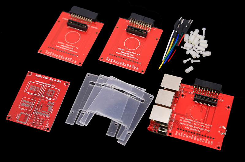 Oityn NEUE JTAG ISP Adapter 5 IN 1 Für RIFF EINFACH JTAG Z3X EINFACH JTAG MEDUSA EMMC E-MATE BOX ATF BOX freies verschiffen