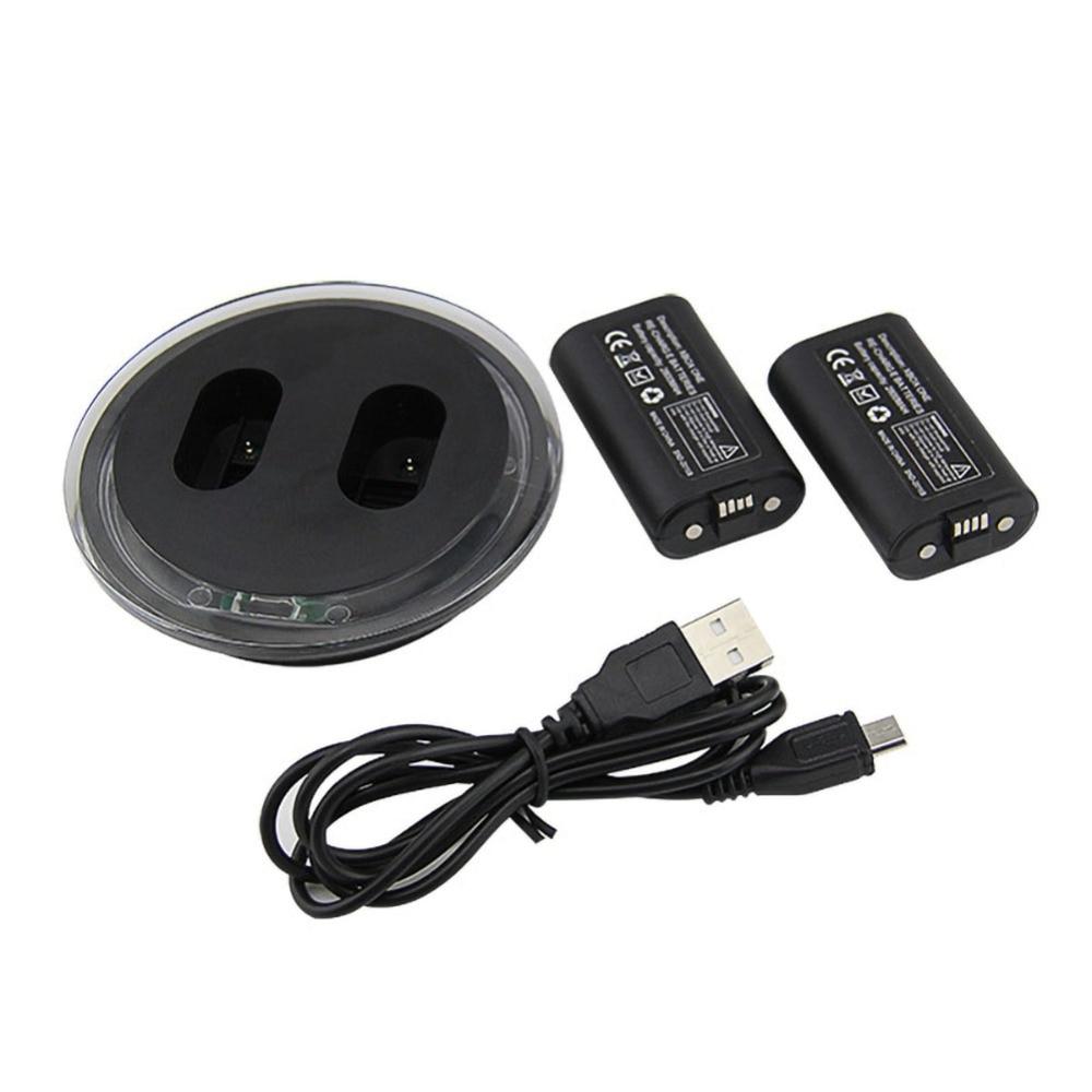 Chargeur de Station de chargement double et 2 batteries supplémentaires pour XBOX ONE