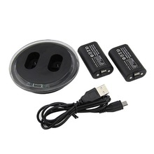 Dual Charging Dock Station Controller Charger and 2 Extra Battery For XBOX ONE