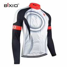 Bxio Winter Thermal Fleece Cycling Jersey Shirt  Bike Jersey Pro Bike Team Warm Long Sleeves Autumn Bicycle Clothing 073-J