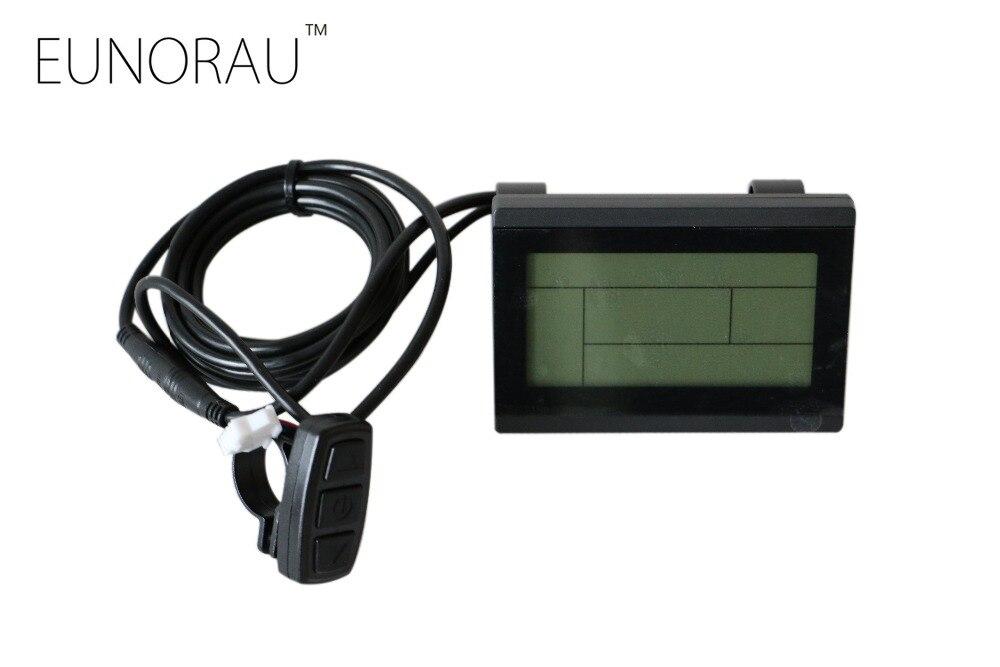 Free shipping <font><b>electric</b></font> bicycle display K-LCD3 display for e <font><b>bike</b></font> lcd display conversion kit