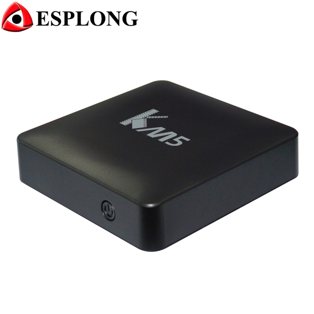KM5 TV Box Android 6.0 Amlogic S905X 1GB 8GB WiFi H.265 HDR10 Preinstalled Android Smart TV Box 4K Media Player