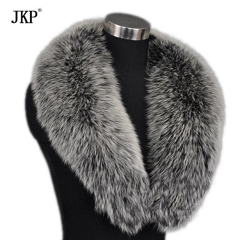 Zimske ženske stvarne krznene ovratnice od lisice, krznene kapice - Pribor za odjeću - Foto 2