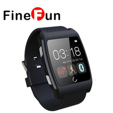 FineFun Smart Watch UX Heart Rate Monitorring Smartwatch 3G Magsensor Gravity Sensor NFC Sports  Bluetooth watch For Android IOS