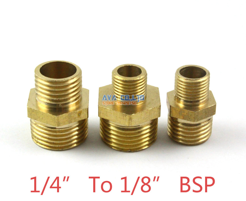 20 Pieces Brass Male 1/4