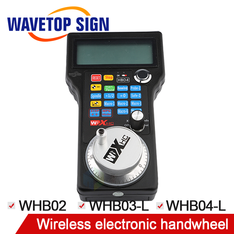 WaveTopSign Wireless Electronic Handwheel WHB02 / WHB03-L / WHB04-L / LHB03 Cable LHB04 Cable Mach 3use BWGP03-55A
