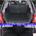 Good mats! Special car trunk mats for Ssangyong Rexton W 2014 durable waterproof luggage carpets for Rexton w 2015,Free shipping