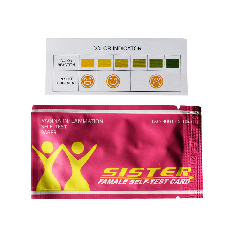 Female self-test card tampons (10)