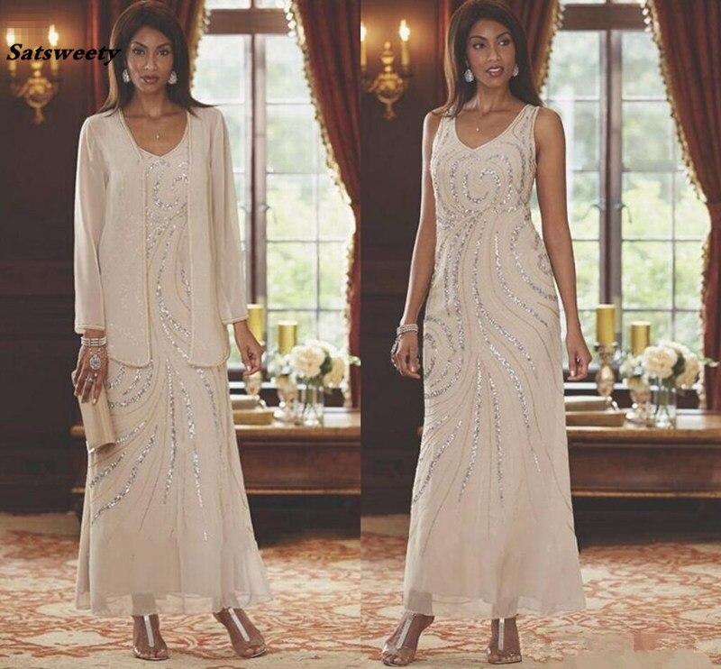 05241bcdc5f 2019 кружевные платья для матери невесты с курткой с короткими рукавами и кружевами  платья для выпускного вечера с русалочкой длинные платья .
