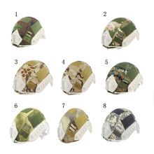 Outdoor Sports Helmet BJ/PJ/MH Multicam/Typhon Camo Emerson Paintball Wargame Army Airsoft Tactical Military Cover
