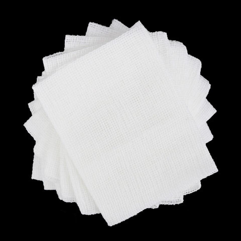 10 Tablets Sterile Medical Gauze Piece Disinfection Sterilization Degreasing Cotton Gauze  10X10cm