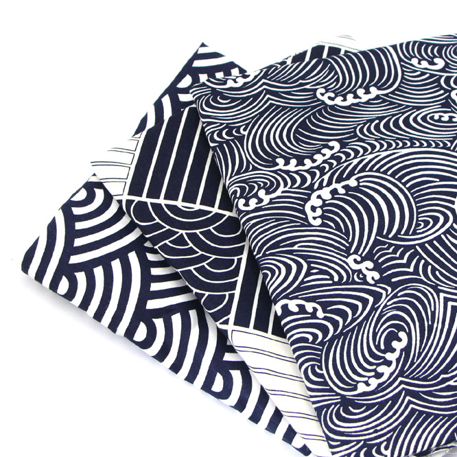 Syunss, темно синяя волна 3 вида стилей напечатанный Хлопок Ткань DIY ткани лоскутное одеяло шитье детские игрушки постельные принадлежности стеганый Tecido Тильда Ткань