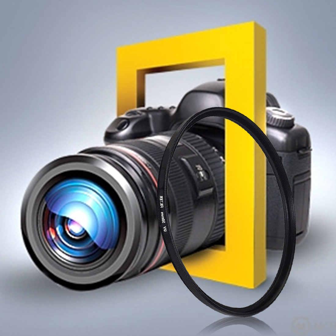 30.5mm 37mm 40.5mm 43mm 46mm 49mm 52mm 55mm 58mm 62mm 67mm 72mm 77mm 82mm UV filtre Canon nikon sony Pentax kamera Lens