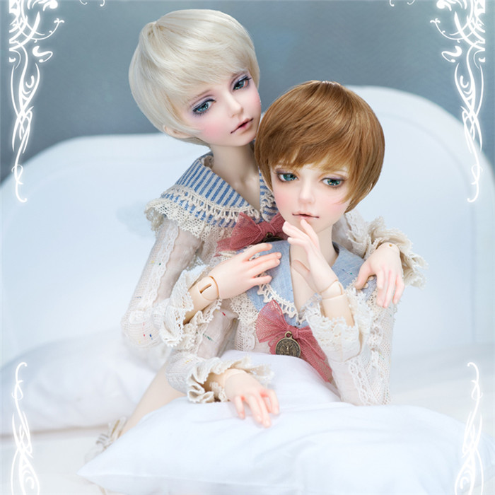 stenzhorn Fashion Doll BJD 1/4 Mika Boys Two Hands Free Eyes цена