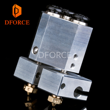 DFORCE customise your dual extrusion+ chimera+ water cooled for 3d printer e3d hotend titan extruder touch nozzle