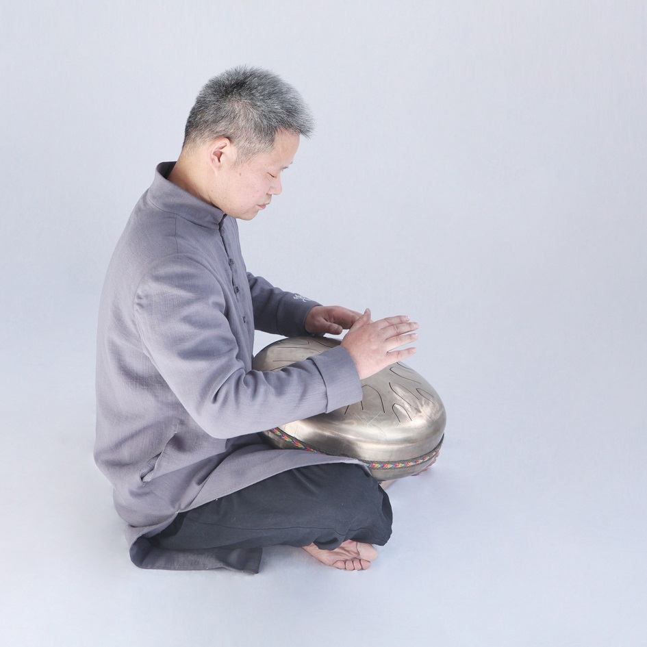 Hand-made alloy Hank Drum steel tongue drum double-sided steel tongue HandPan drum performance drumstick case handpan instrument