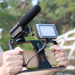 Photographic Video Gear Set with Takstar SGC-598 shotgun Interview Microphone & Ulanzi U Rig Pro for Youtube Vlogger Videomaker