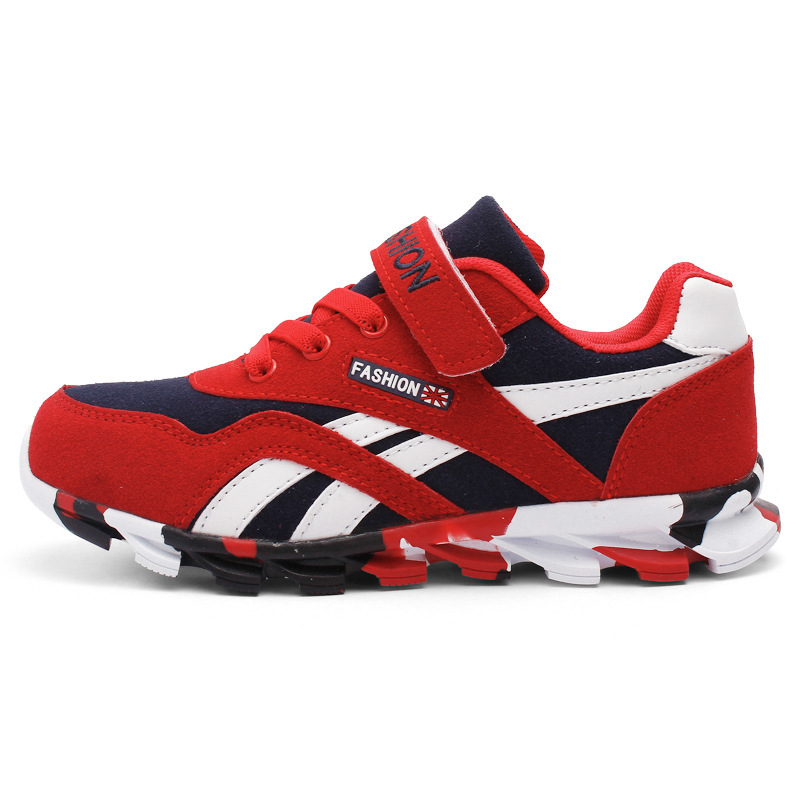 Fashion 2016 Children Sports Shoes Children Brand New Shock Absorption Sneakers Student Boys Girls Casual Shoes Hot Sale 49b024