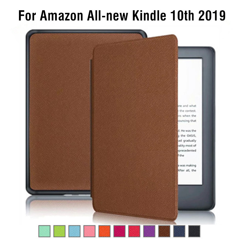 Folio PU Leather Case for Amazon All-new Kindle 2019 Magnet Cover For Kindle 10th Generation 6-inch E-book Case Auto sleep wakeFolio PU Leather Case for Amazon All-new Kindle 2019 Magnet Cover For Kindle 10th Generation 6-inch E-book Case Auto sleep wake