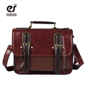 ECOSUSI 2015 new  Retro Women Leather Handbags Functional Women Leather Briefcase Vintage Satchel Women Messenger Bags
