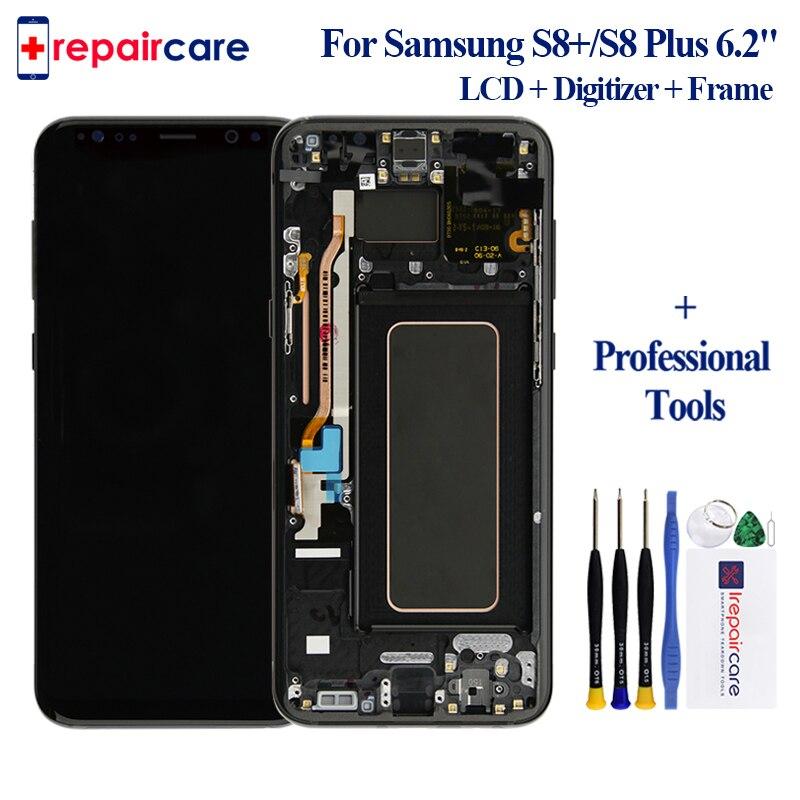 Оригинал для samsung Galaxy S8 + G9550 G955F дисплей ЖК экран Замена для samsung SM G955FD G955N ЖК модуль экрана дисплея