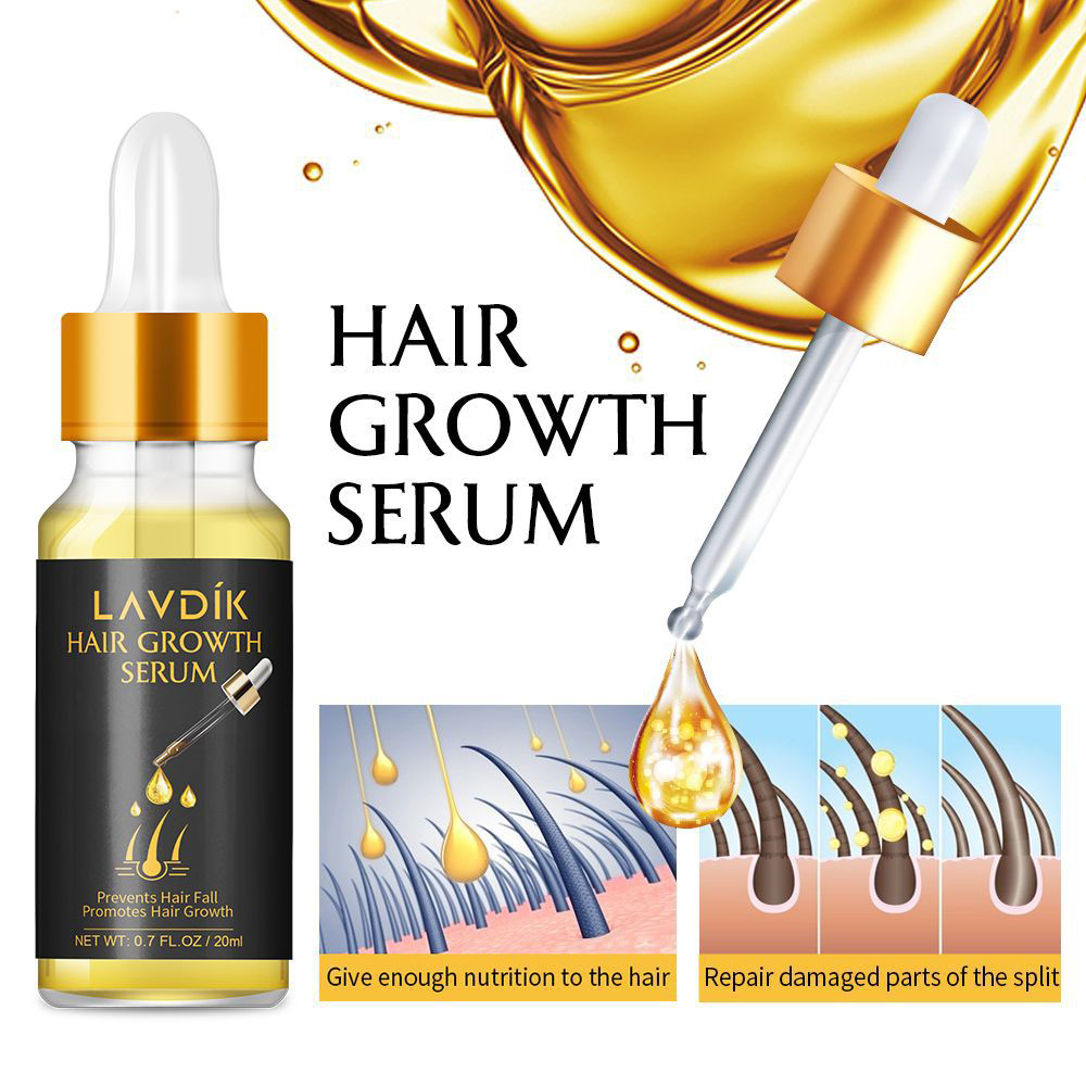 Essential-Oil Liquid Ginger Hair-Lose Damaged LAVDIK Growing Fast Women TSLM1 Anti-Preventing