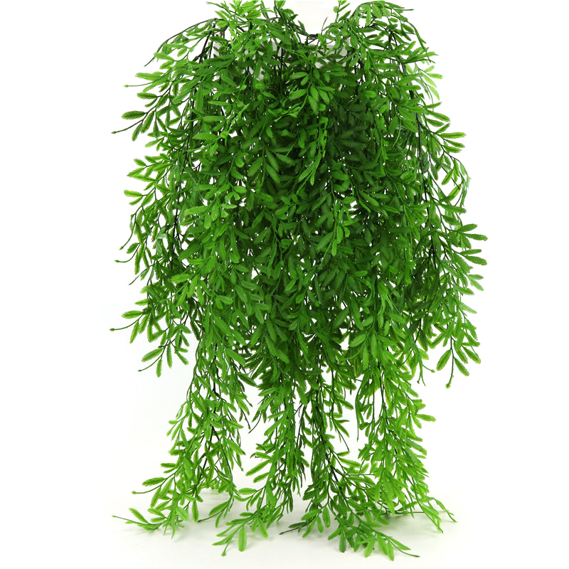Artificial Flowers Plants Wall Hanging Vine Greenery Garland Faux Willow Rattan Home Garden Wedding Decoration