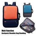 Laptop mochila 17 17.3 polegada mulher homem maleta bolsa de ombro viagens saco de escola saco de Nylon impermeável para Macbook Pro Air Hp