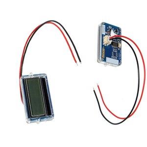 Image 2 - Medidor de capacidade de bateria de lítio, à prova d água th01 lcd 3s 12v indicador de capacidade de bateria de lítio azul lipo íon lítio testador medidor de dígito
